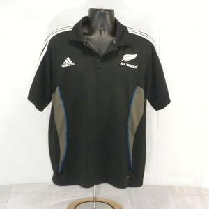 Adidas XXL All Blacks Rugby Tri Stripe Climacool